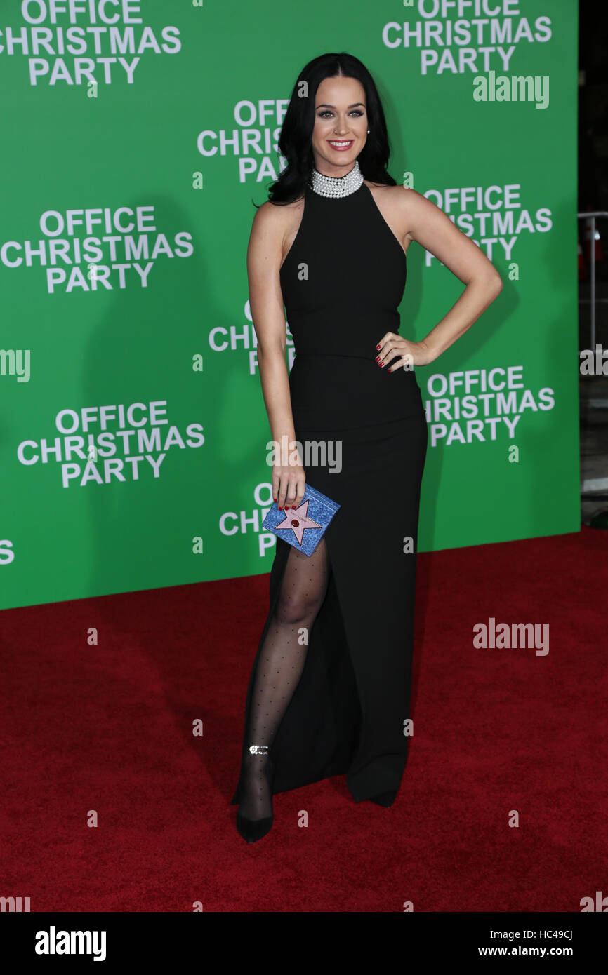 Westwood, Ca. 07th Dec, 2016. Katy Perry arrives at the premiere of ...