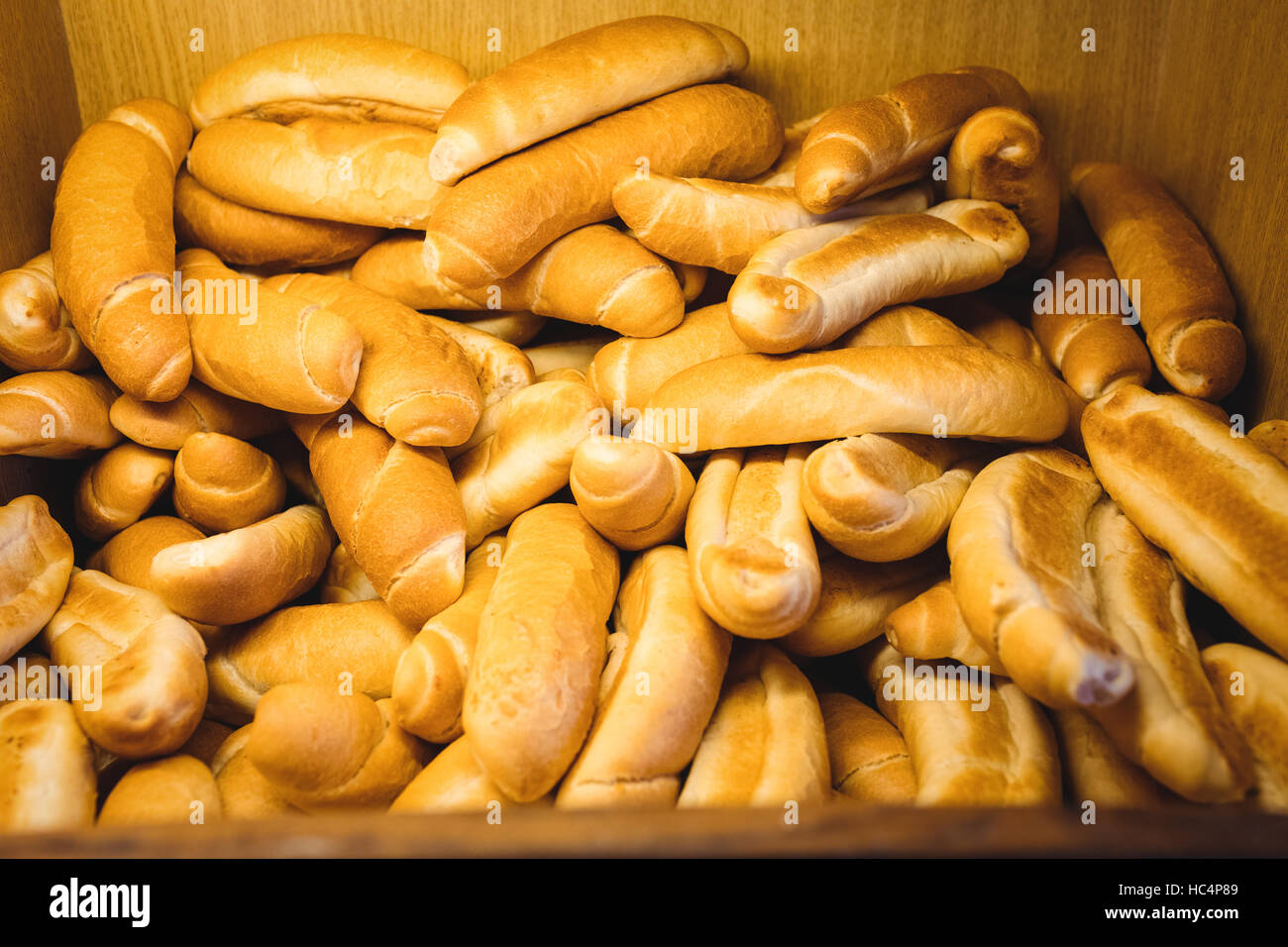 Loaf of breads in abundant - Stock Image