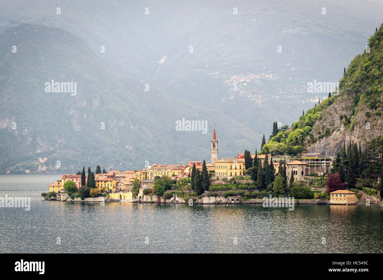 Varenna Lago di Como - Stock Image