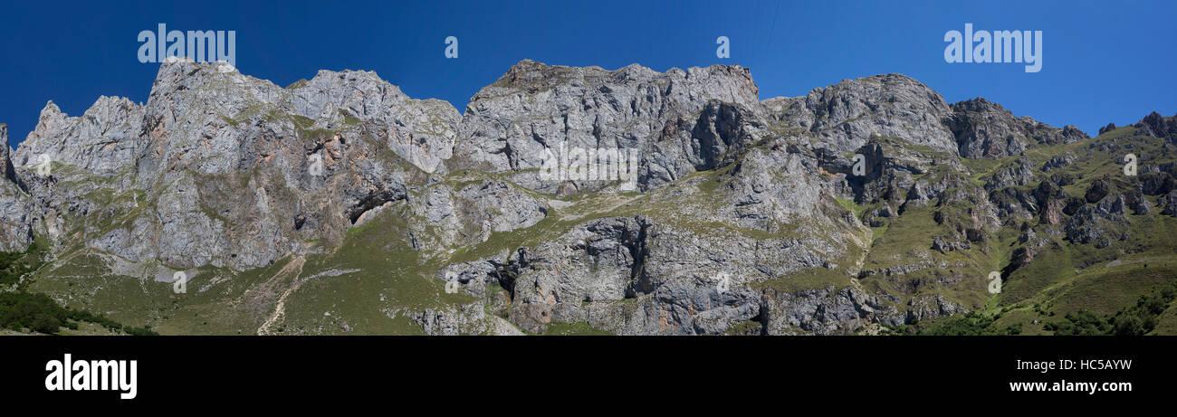 Fuente Dé, Cantabria, Picos de Europa - Stock Image