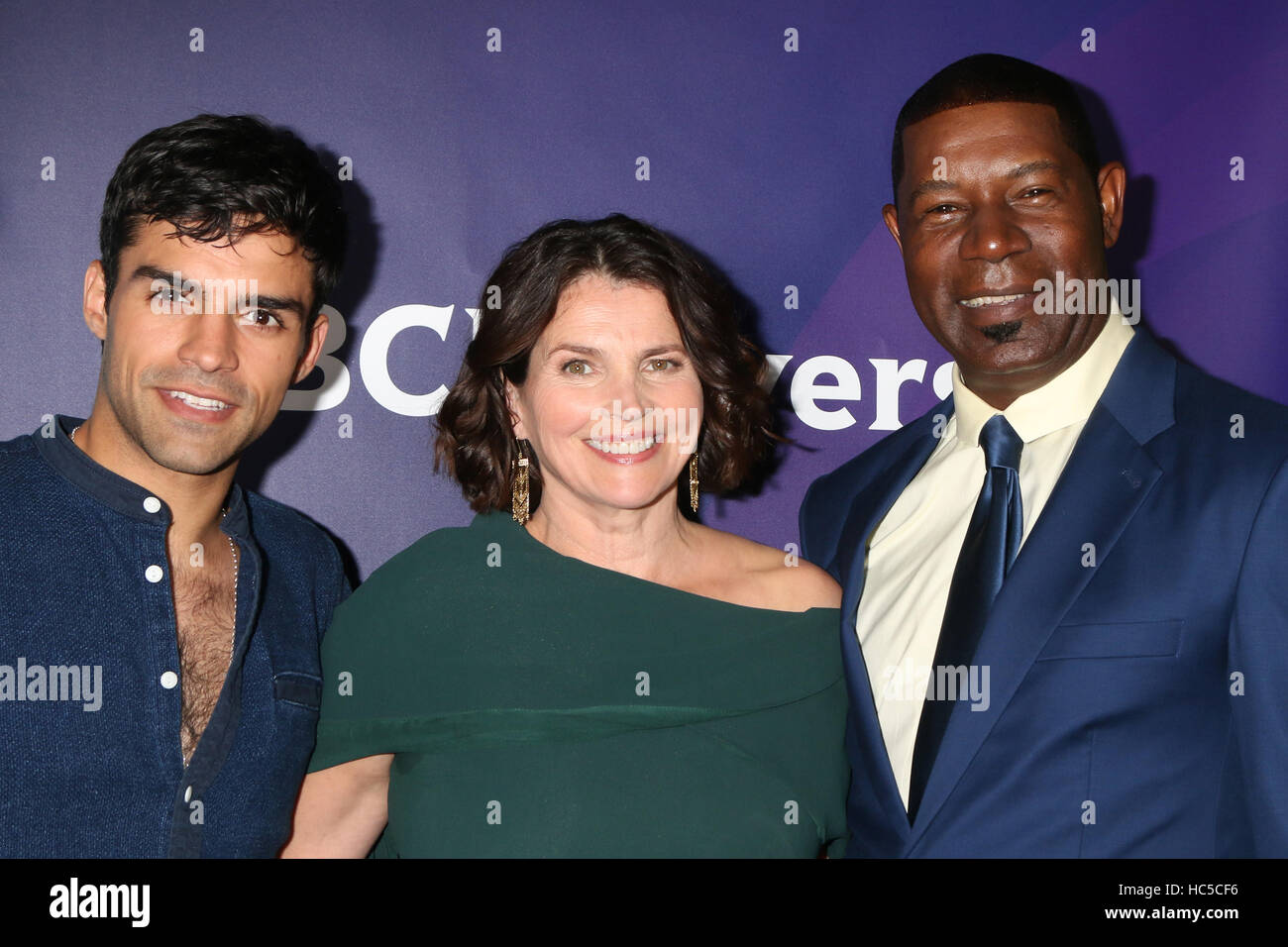 NBCUniversal Cable TCA Summer 2016 Press Tour at the Beverly Hilton Hotel  Featuring: Sean Teale, Julia Ormond, - Stock Image