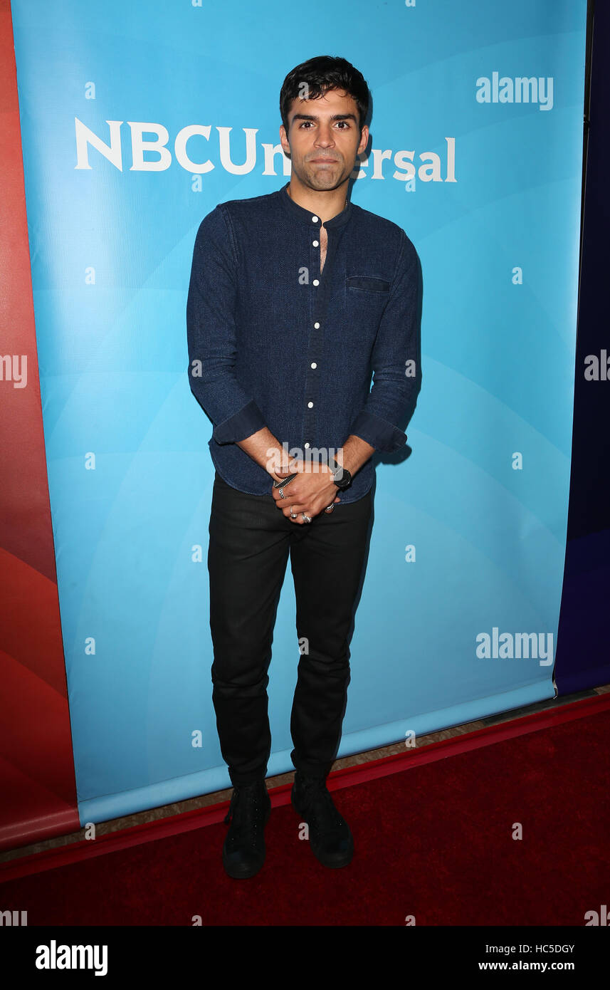 2016 Summer TCA Tour - NBCUniversal Press Tour Day 2  Featuring: Sean Teale Where: Beverly Hills, California, United - Stock Image