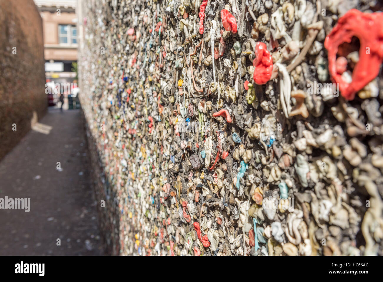 Bubble Gum Alley In San Luis Obispo California Usa Stock Photo
