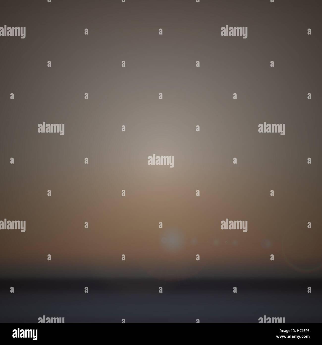 Blurred background of landscape design - Stock Image