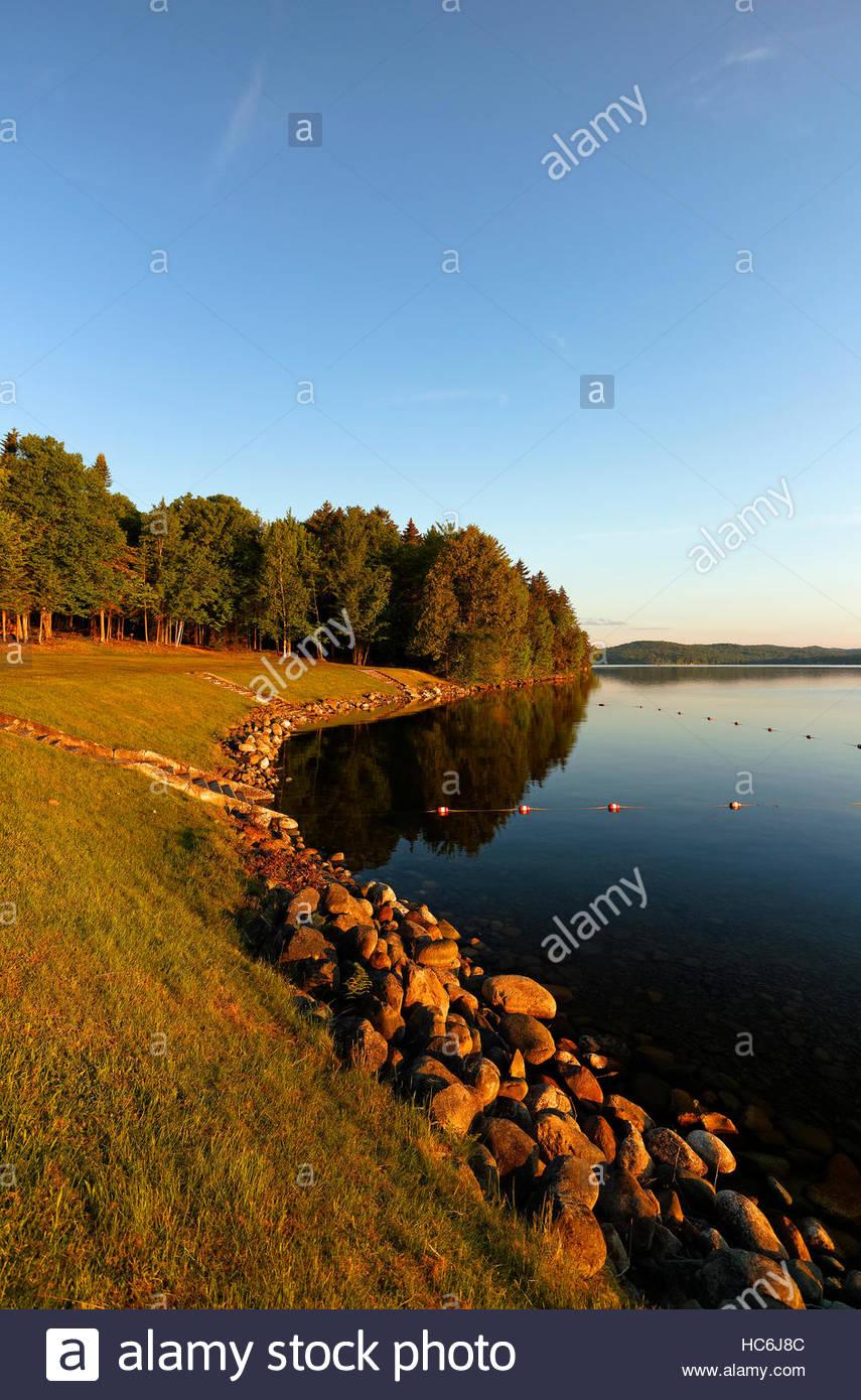 Rangeley Lakes State Park, Maine, USA. - Stock Image