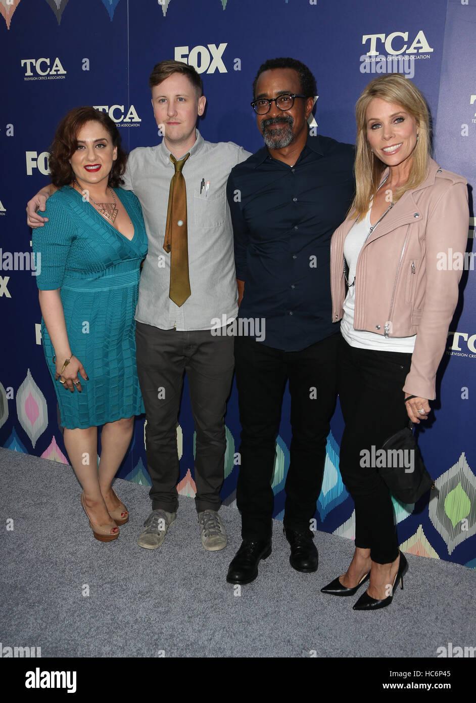 FOX Summer TCA Press Tour Featuring Artemis Pebdani, Johnny