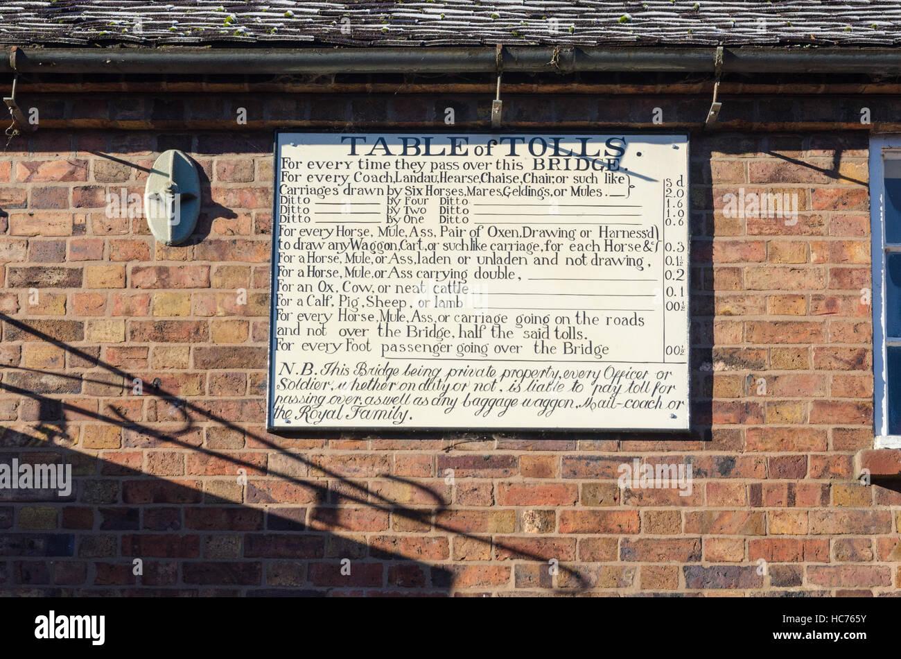 Iron Bridge Toll House in Ironbridge, Shropshire - Stock Image