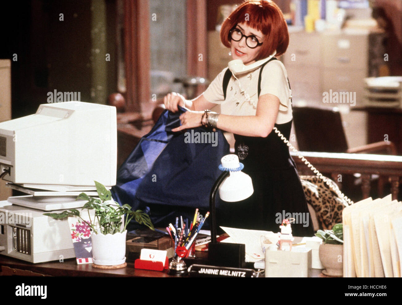 GHOSTBUSTERS II, Annie Potts, 1989, (c) Columbia/courtesy Everett Collection Stock Photo