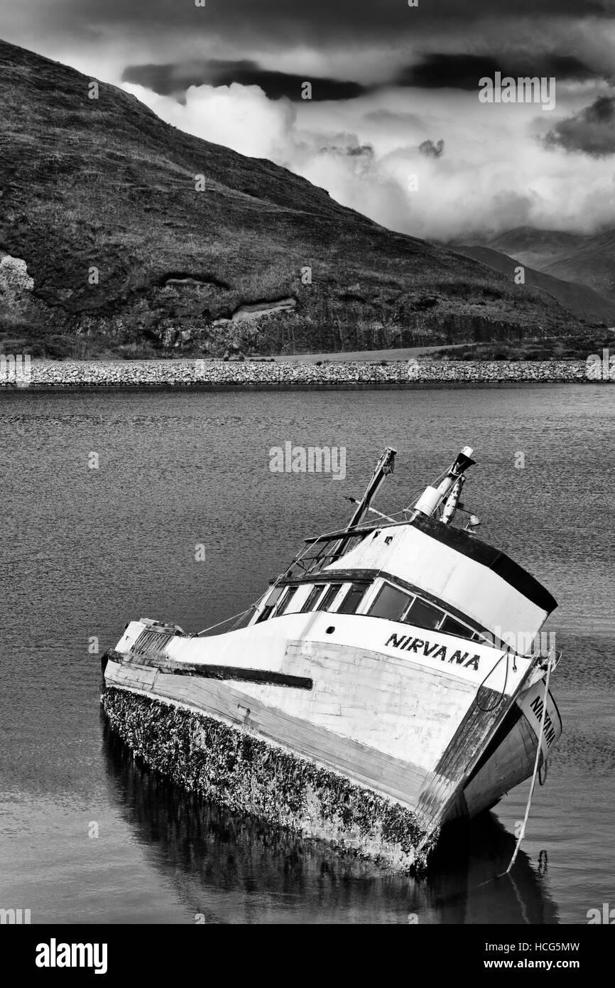 Captains Bay, Unalaska Island, Aleutian Islands, Alaska, USAStock Photo