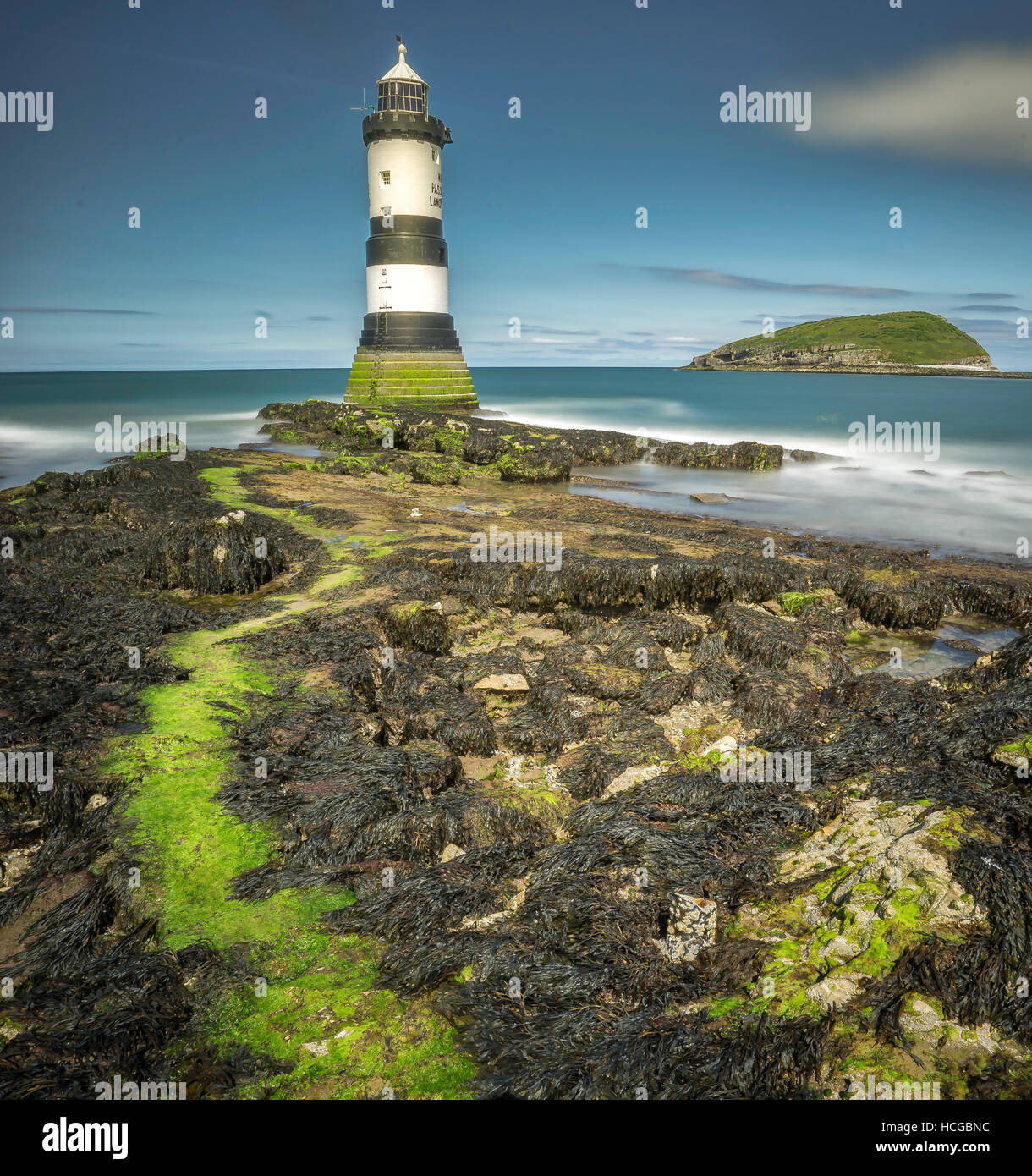 Penmon, Isle of Anglesey Stock Photo