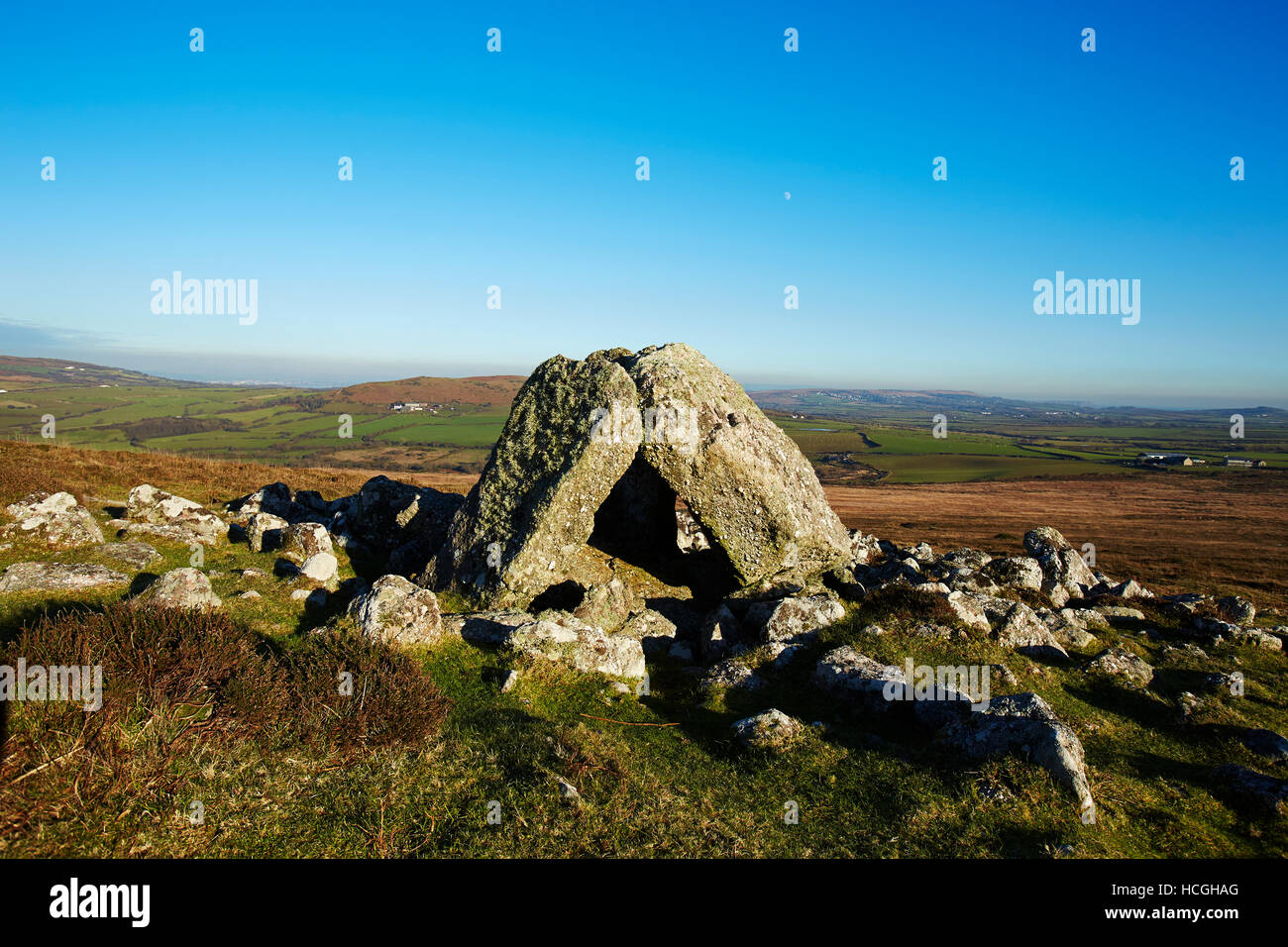 Sweynes Howes, (Neolithic Burial Chamber), Gower, South Wales, UK - Stock Image