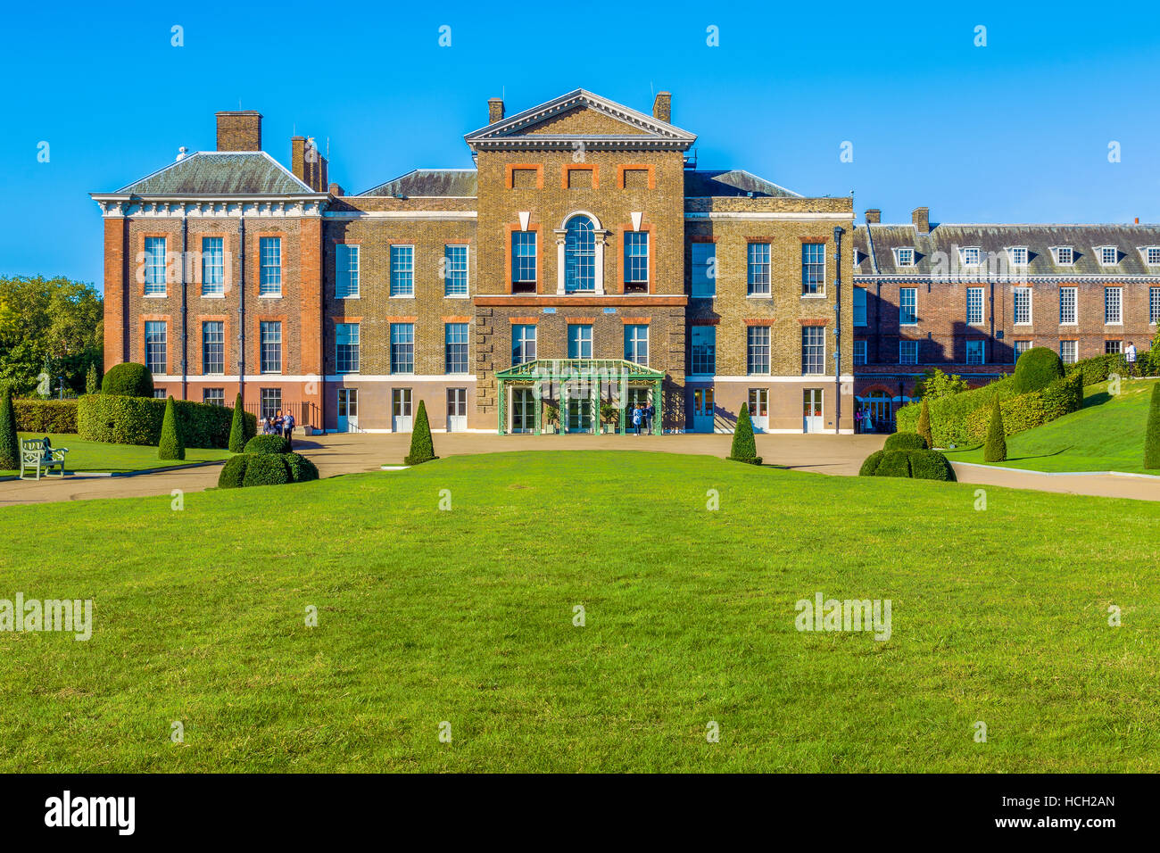 Kensington Palace in London, UK - Stock Image