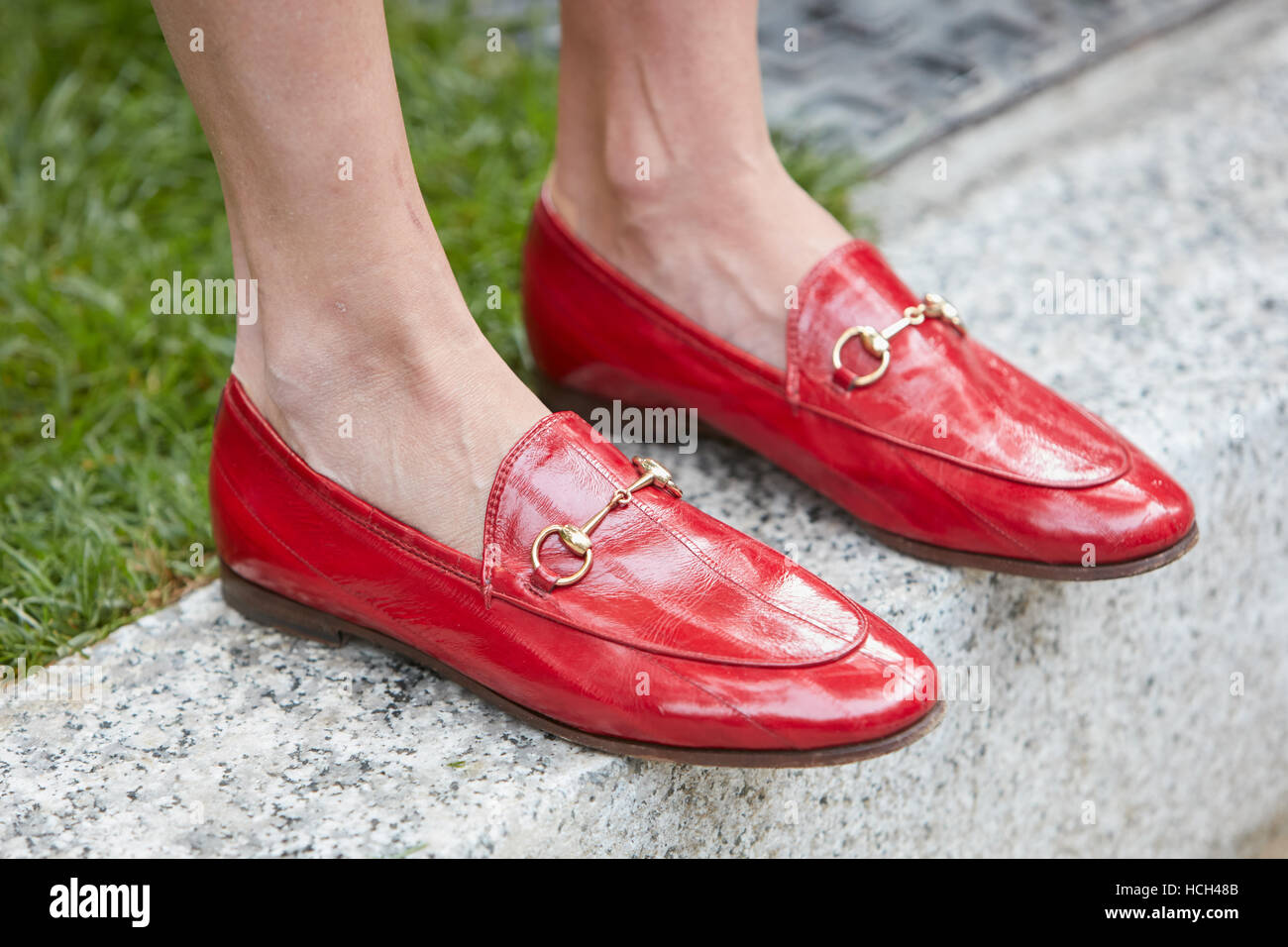 2fefd3e8c248 Gucci Shoes Stock Photos   Gucci Shoes Stock Images - Alamy