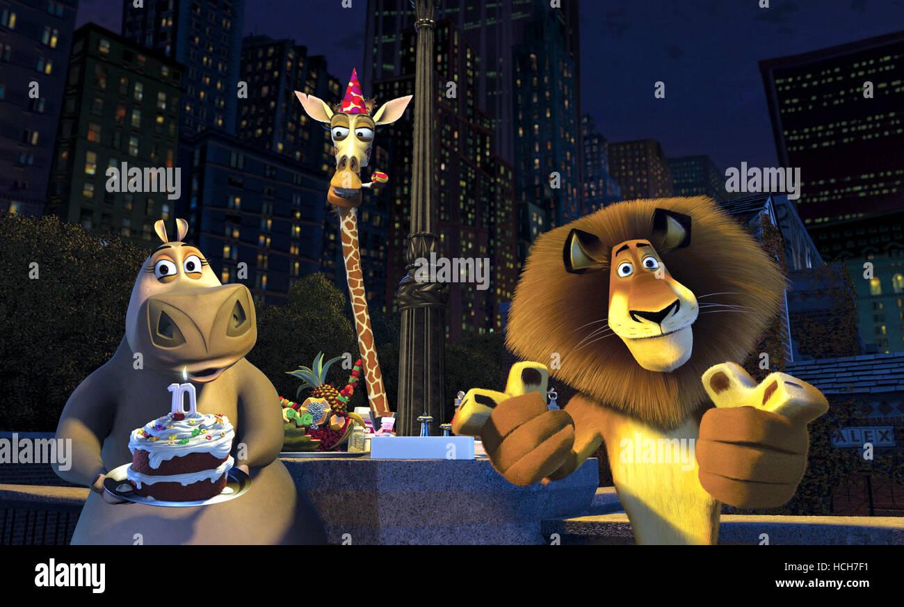 MADAGASCAR, Gloria, Melman, Alex, 2005, (c) DreamWorks
