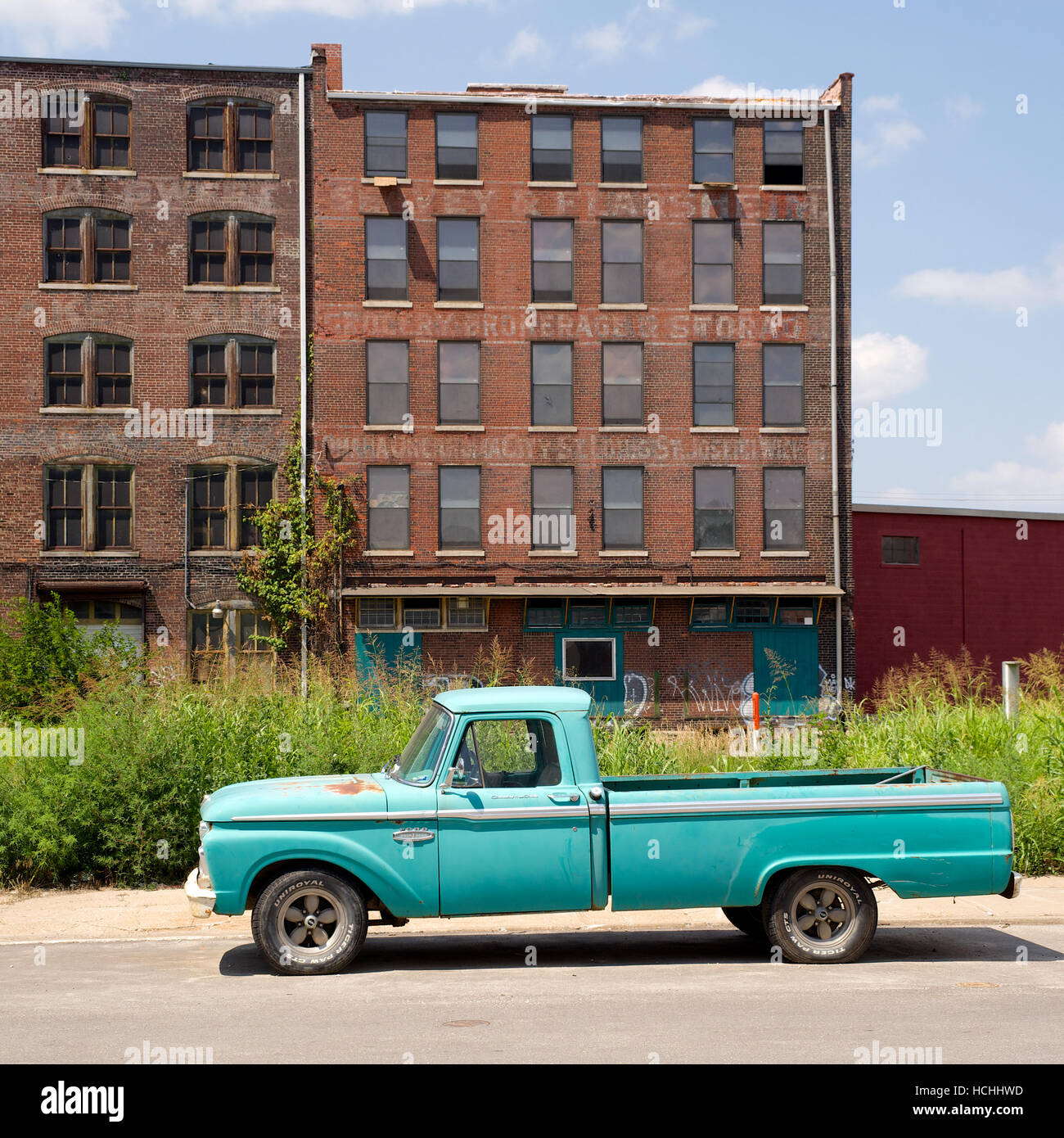 West Bottoms, Kansas City, Missouri, USA. Stock Photo
