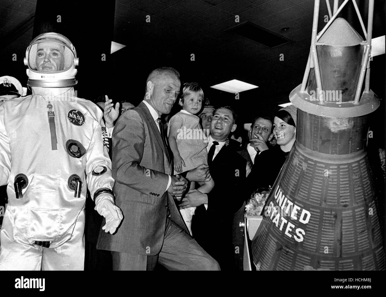 December 8, 2016 - (File Photo) - John Glenn, the first American to orbit the Earth and a former U.S. senator and - Stock Image