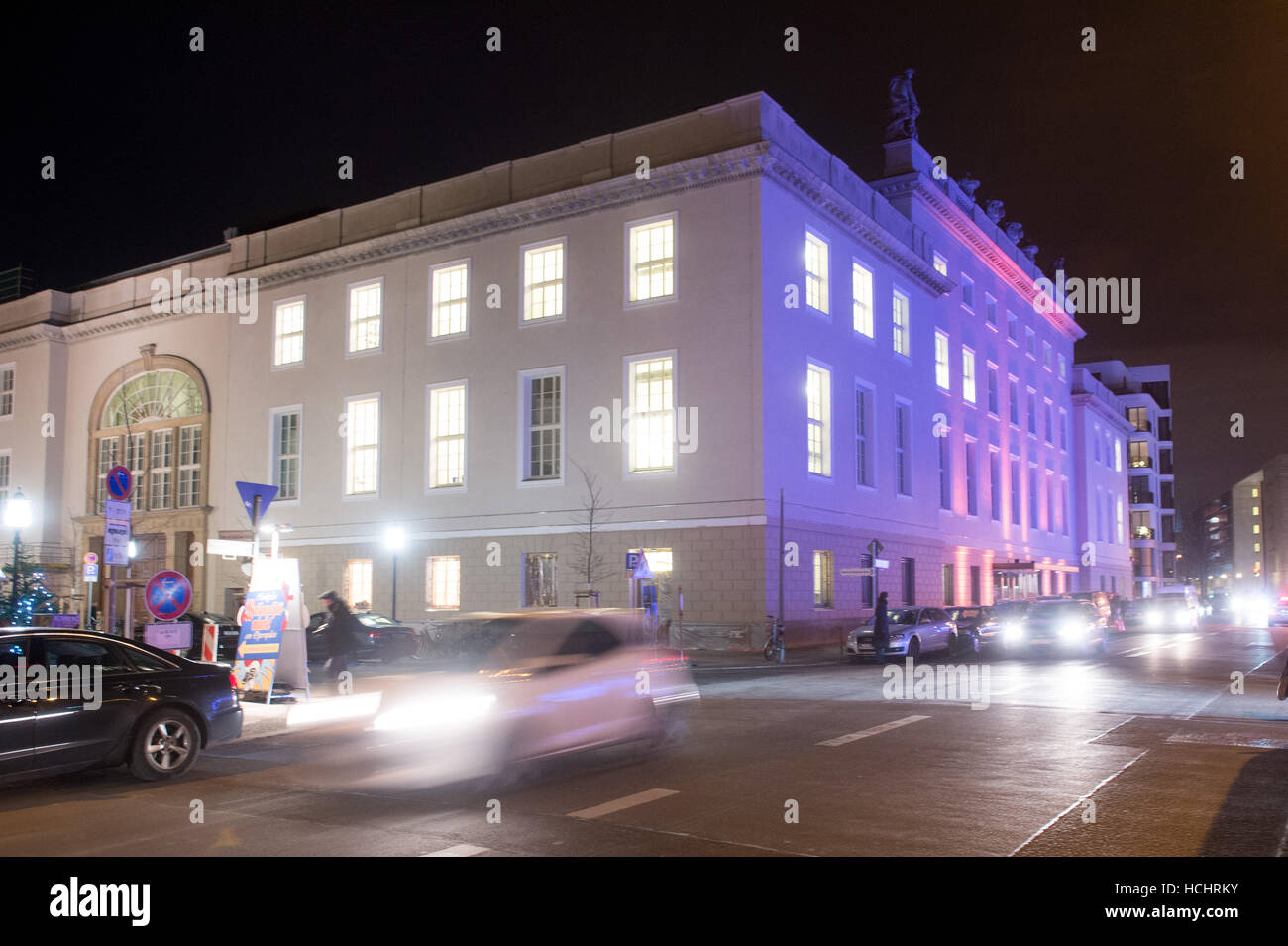 Berlin, Germany. 8th Dec, 2016. View of the Barenboim-Said-Akademie in Berlin, Germany, 8 December 2016. The academy - Stock Image