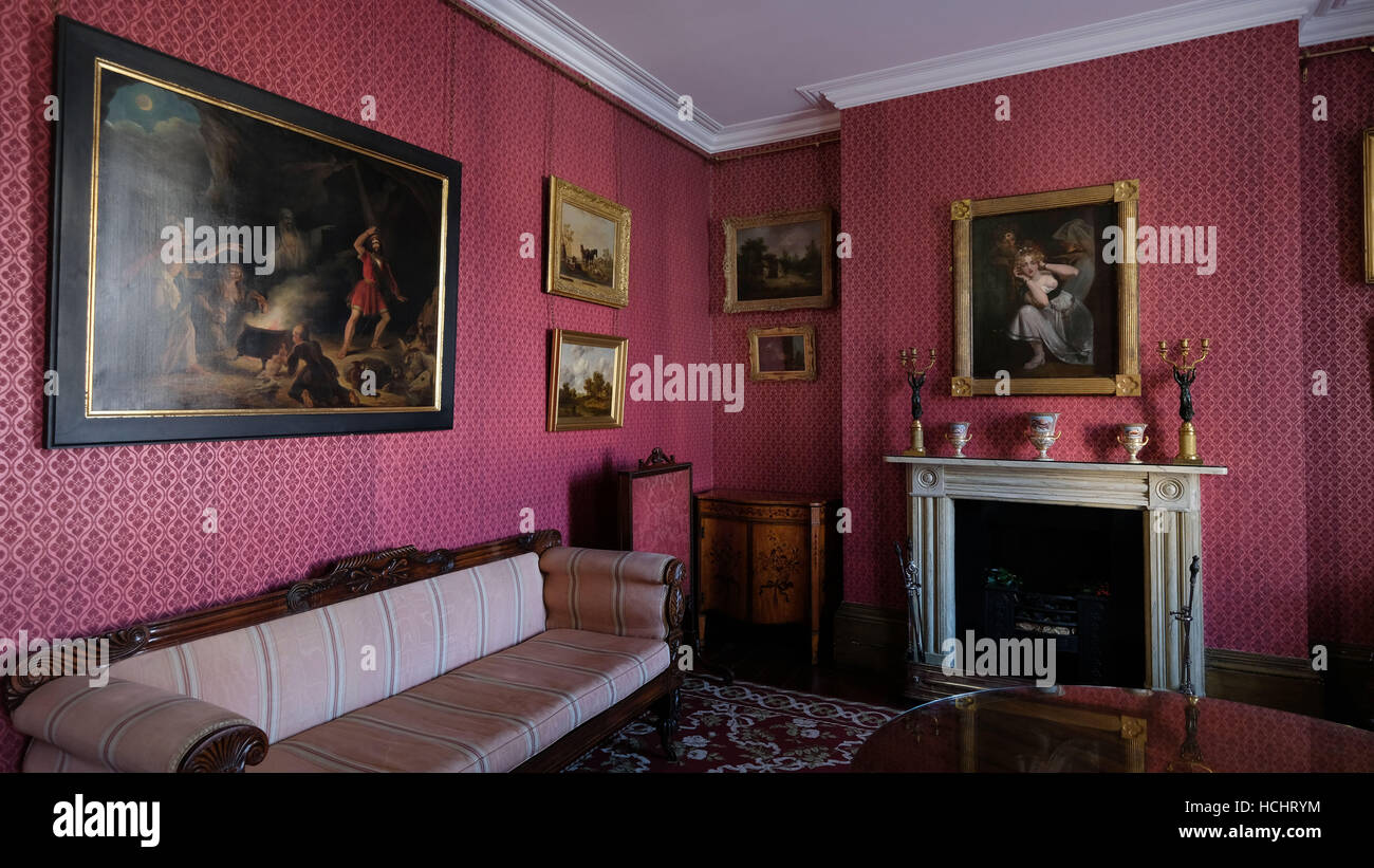 Cheltenham, Gloucestershire, UK. 8th Dec, 2016. Holt museum reopens after restoration following a flood. The home - Stock Image