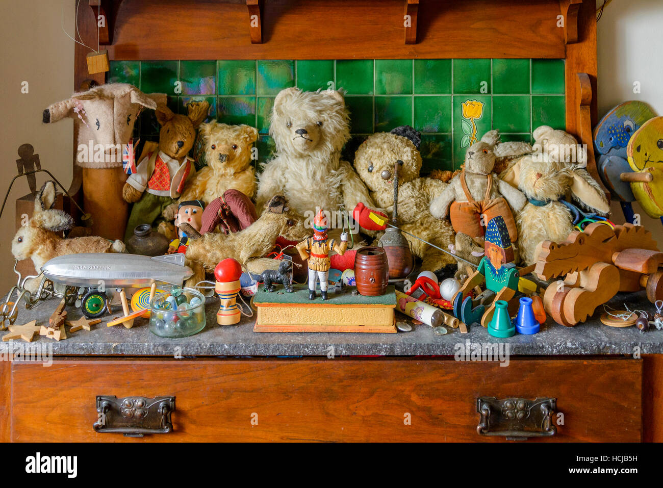 toy collection - Stock Image