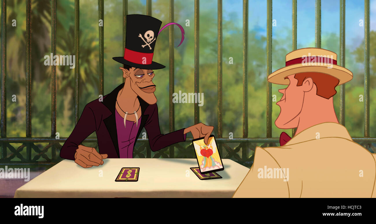 The Princess And The Frog From Left Dr Facilier Voice Keith