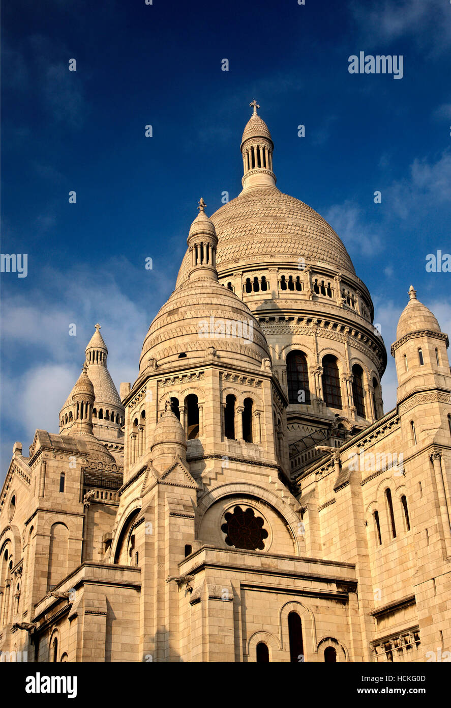 The Basilique du   Sacré-Cœur ('Basilica of the Sacred Heart), simply known as 'Sacré-Cœur', - Stock Image