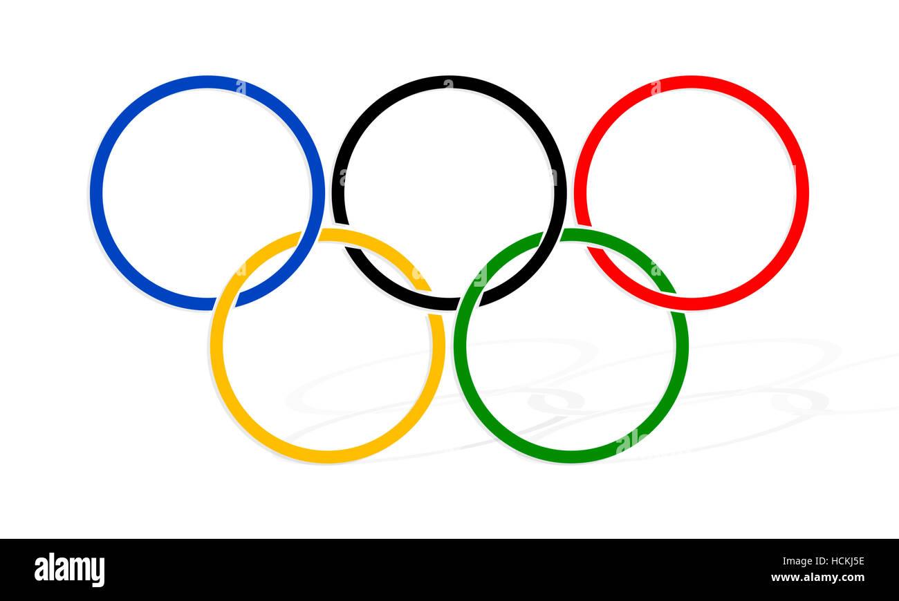 Olympic Games Symbol Stock Photos Olympic Games Symbol Stock