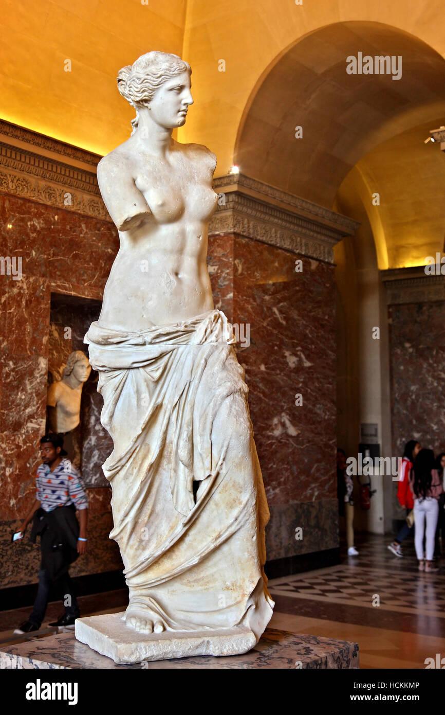 Museum Sculpture Venus Goddess High Resolution Stock ...