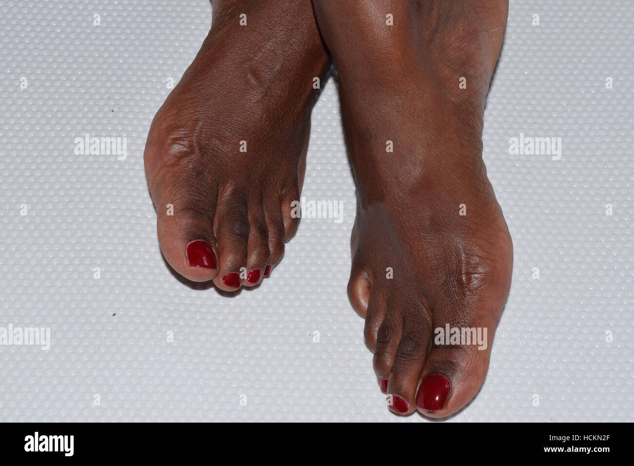 Pretty Black Female Feet