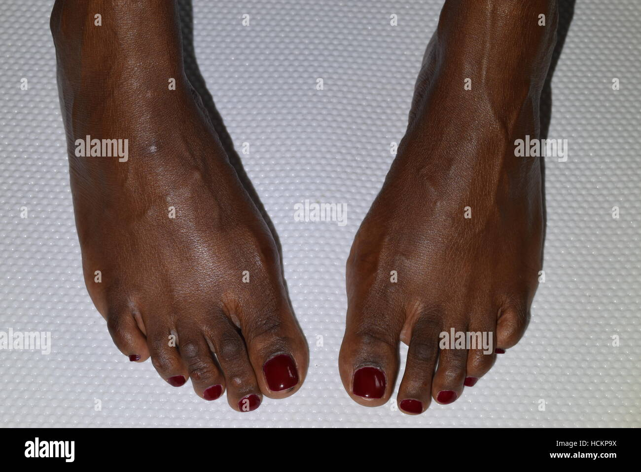 White Nail Polish On Dark Skin Toes