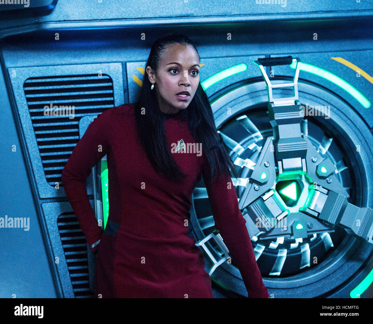 Star Trek Beyond Zoe Saldana As Lieutenant Uhura 2016 Ph