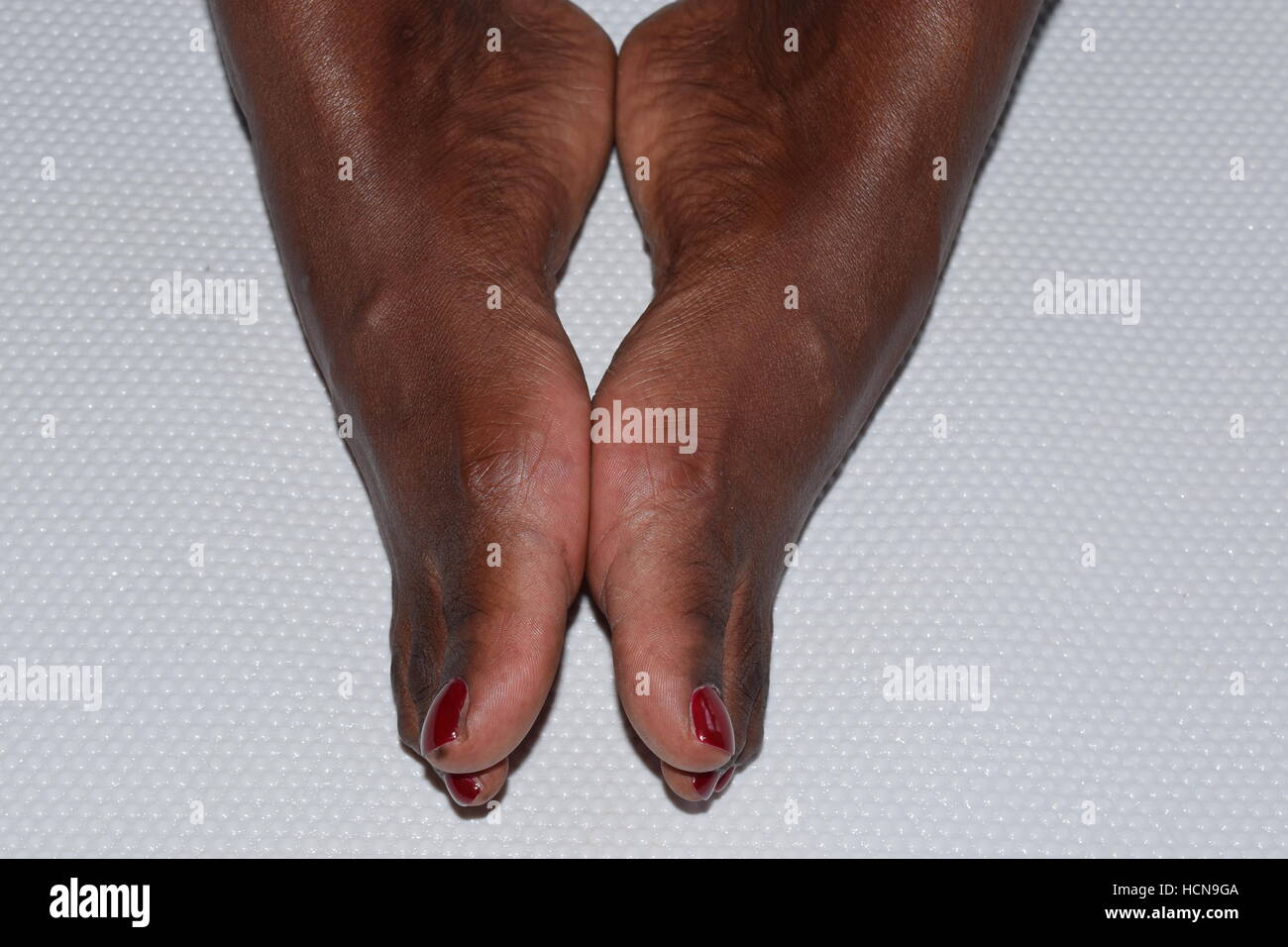 tg Ebony foot job