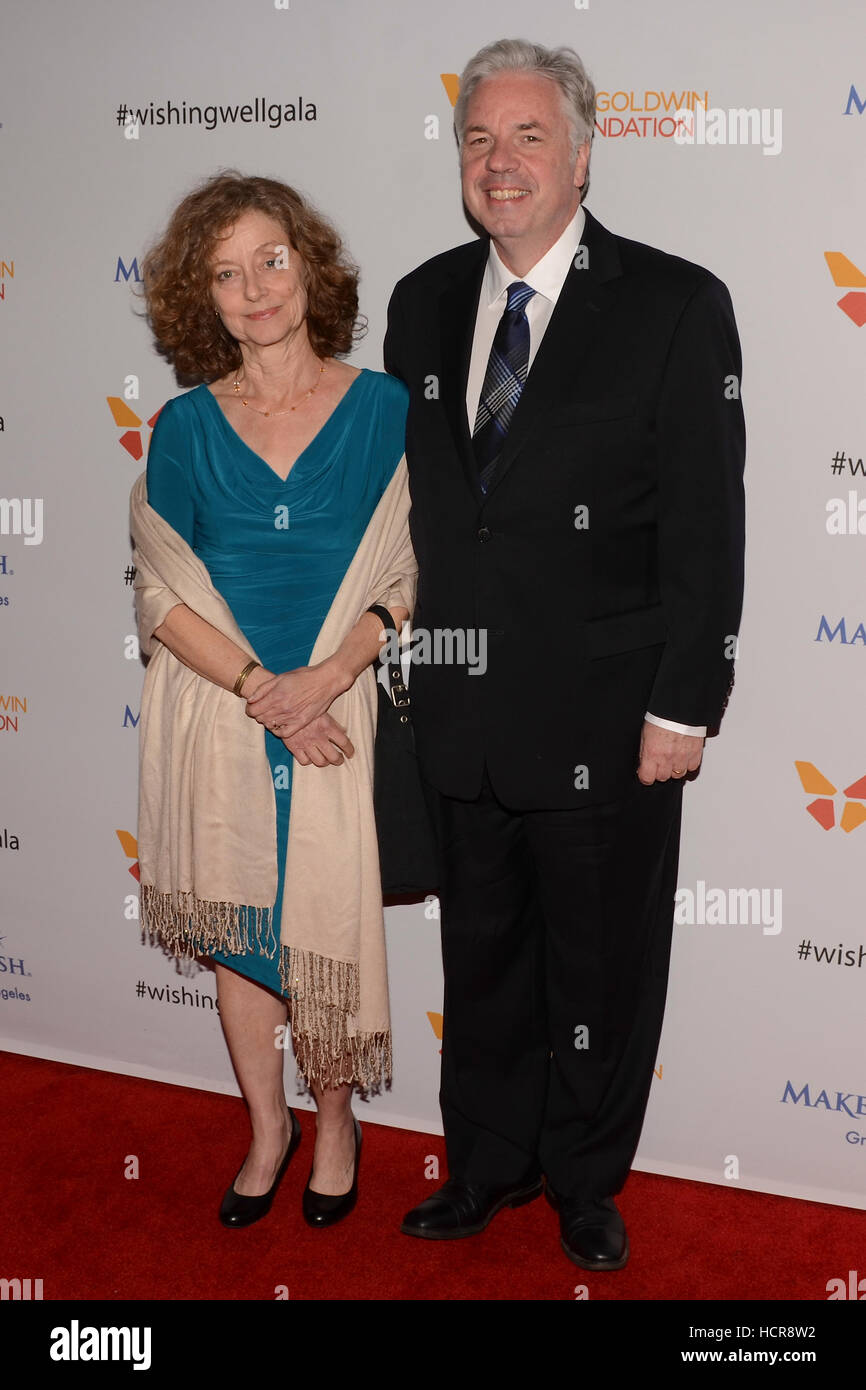 Gretchen Connelly and Chris Connelly attends the 4th Annual Wishing Well Winter Gala on December 07, 2016 at The Stock Photo