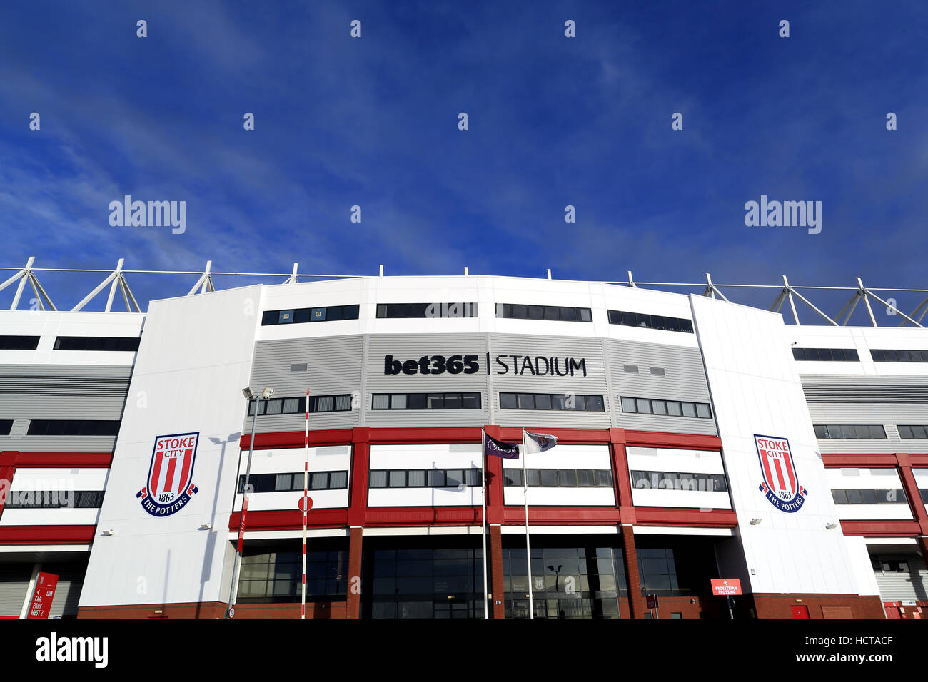 Bet 365 Stadium Stoke on Trent - home to Stoke City FC - Stock Image