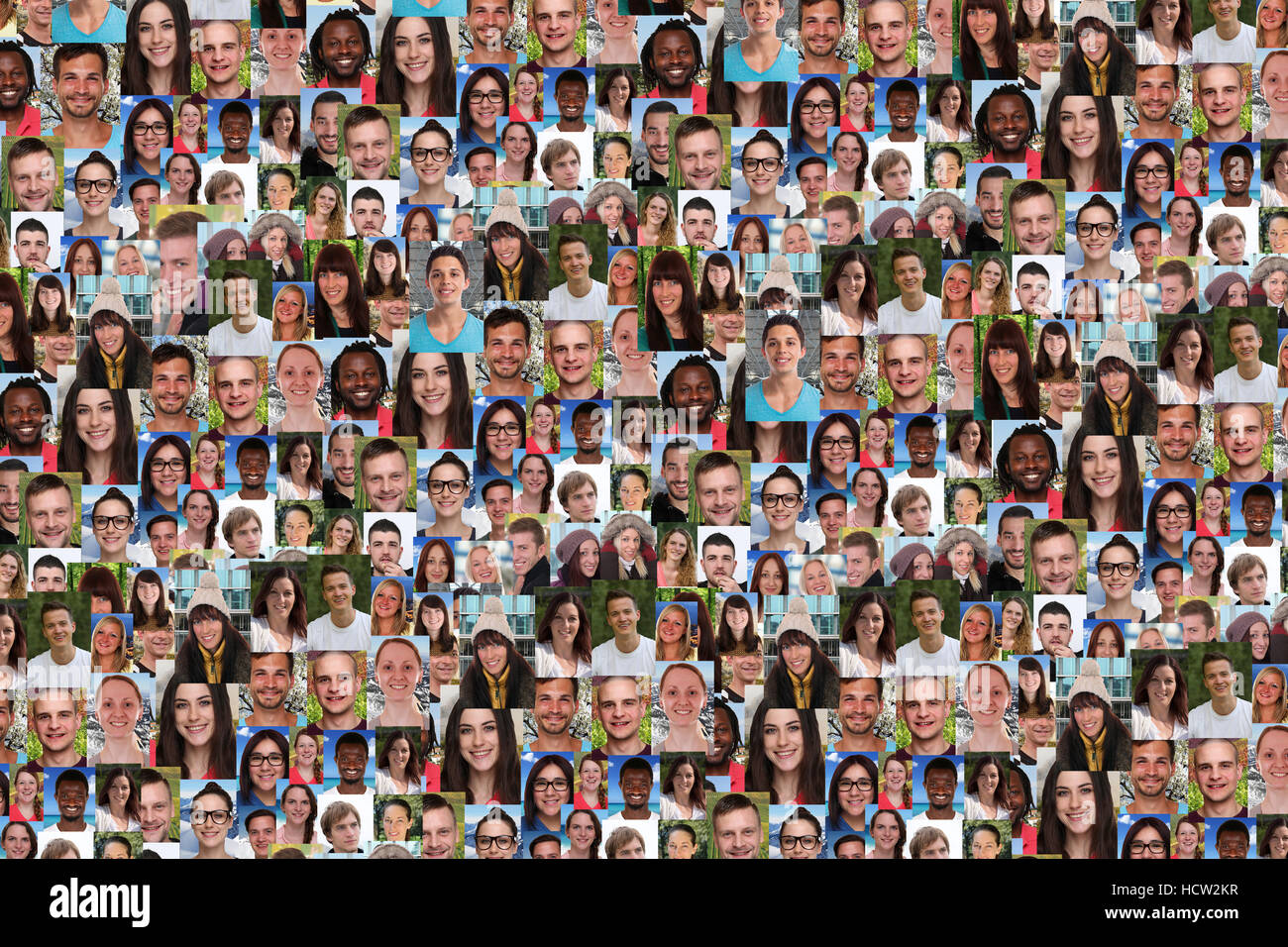 young people background collage large group of smiling faces social