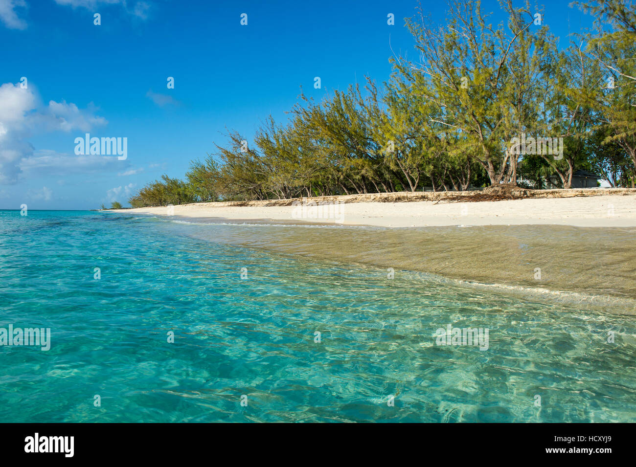Norman Saunders beach, Grand Turk, Turks and Caicos, Caribbean - Stock Image