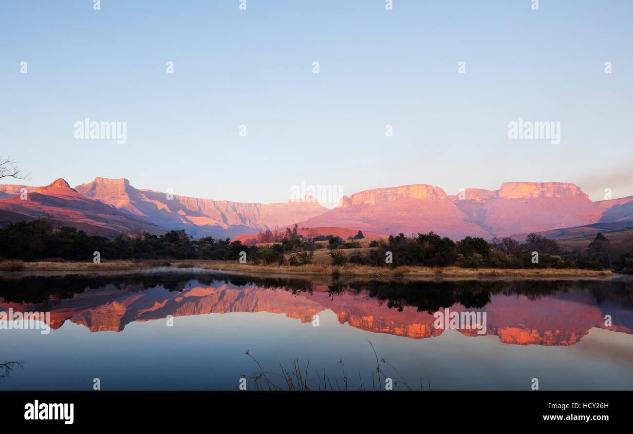 Royal Natal National Park, Drakensburg, Kwazulu-Natal, South Africa, Africa - Stock Image