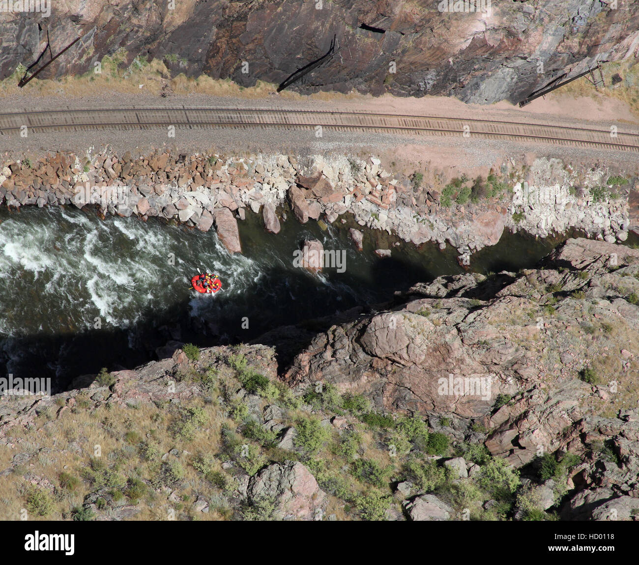 Shooting In Canon City Colorado: Royal Gorge Stock Photos & Royal Gorge Stock Images