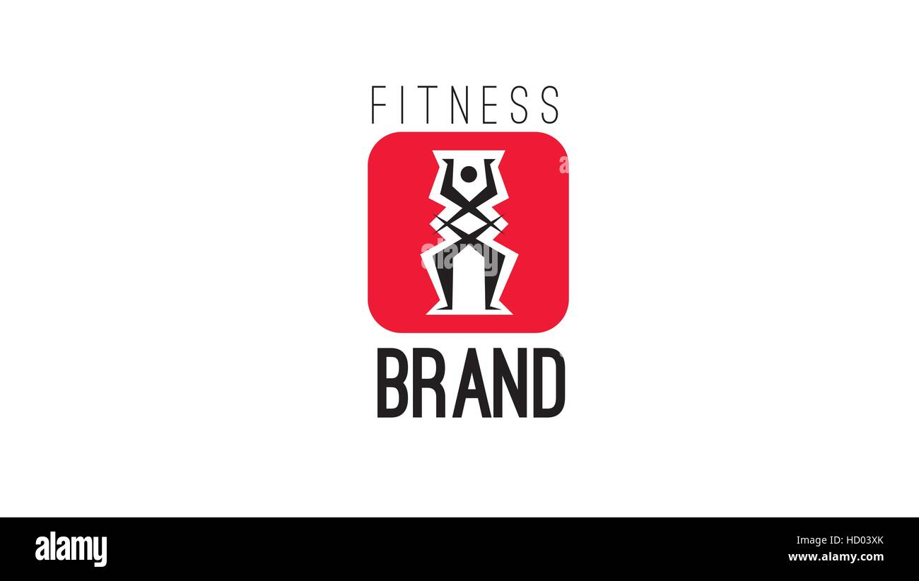 Gym Vector Logo Bodybuilder Bodybuilding Cut Out Stock Images