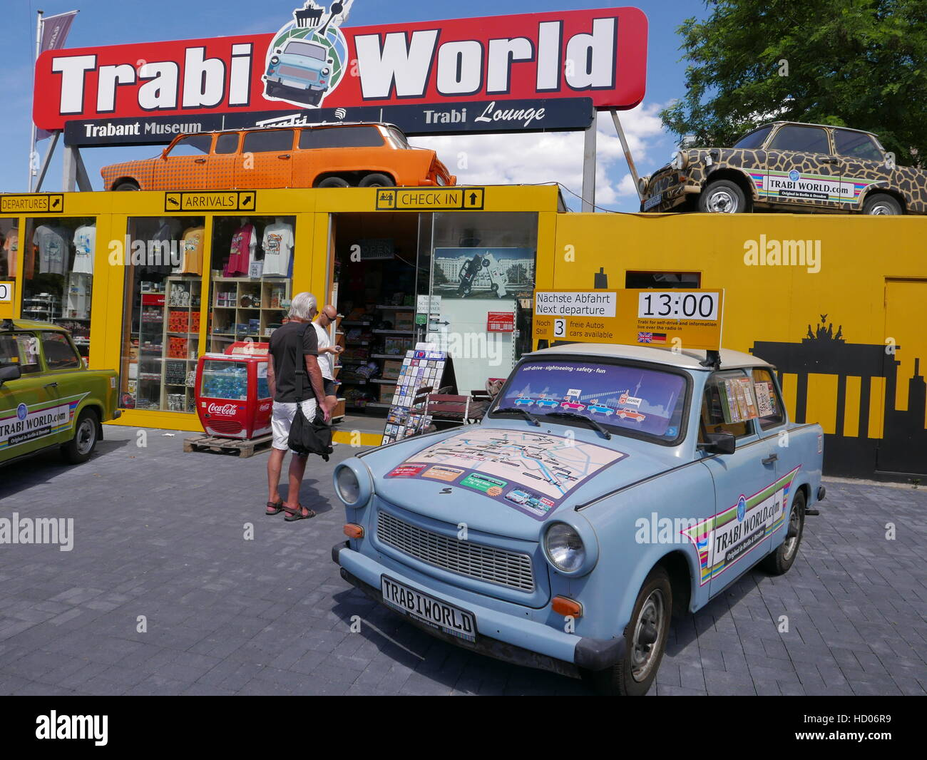 GERMANY - Berlin Trabi World, museum and rentals of the Trabant car ...