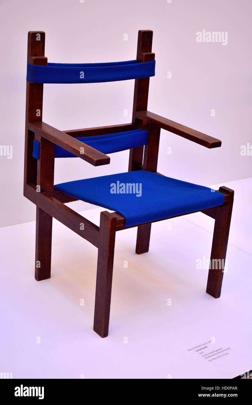 Bauhaus chair from 1922 - Stock Image