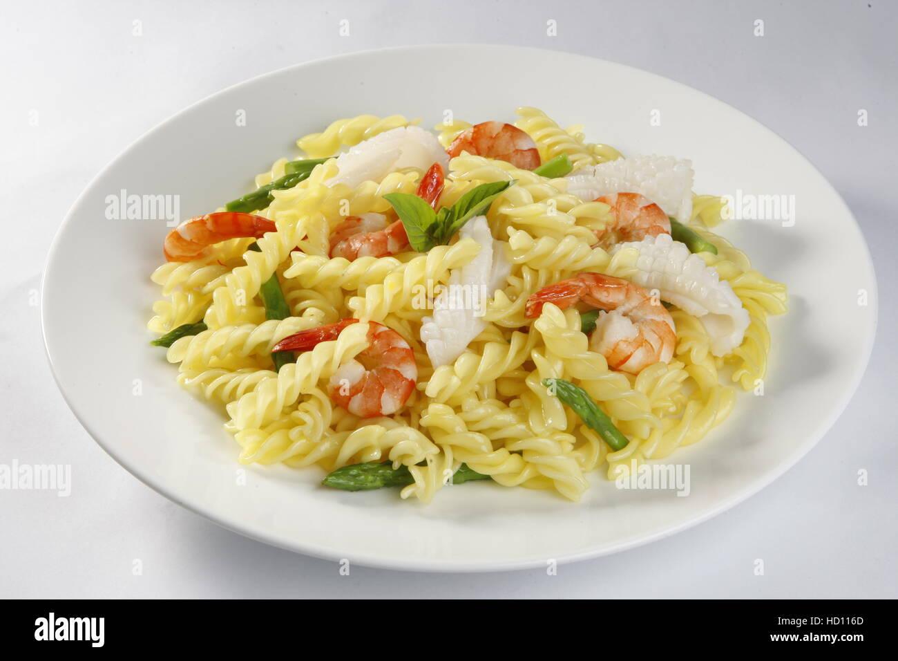 Macaroni noodles - Stock Image