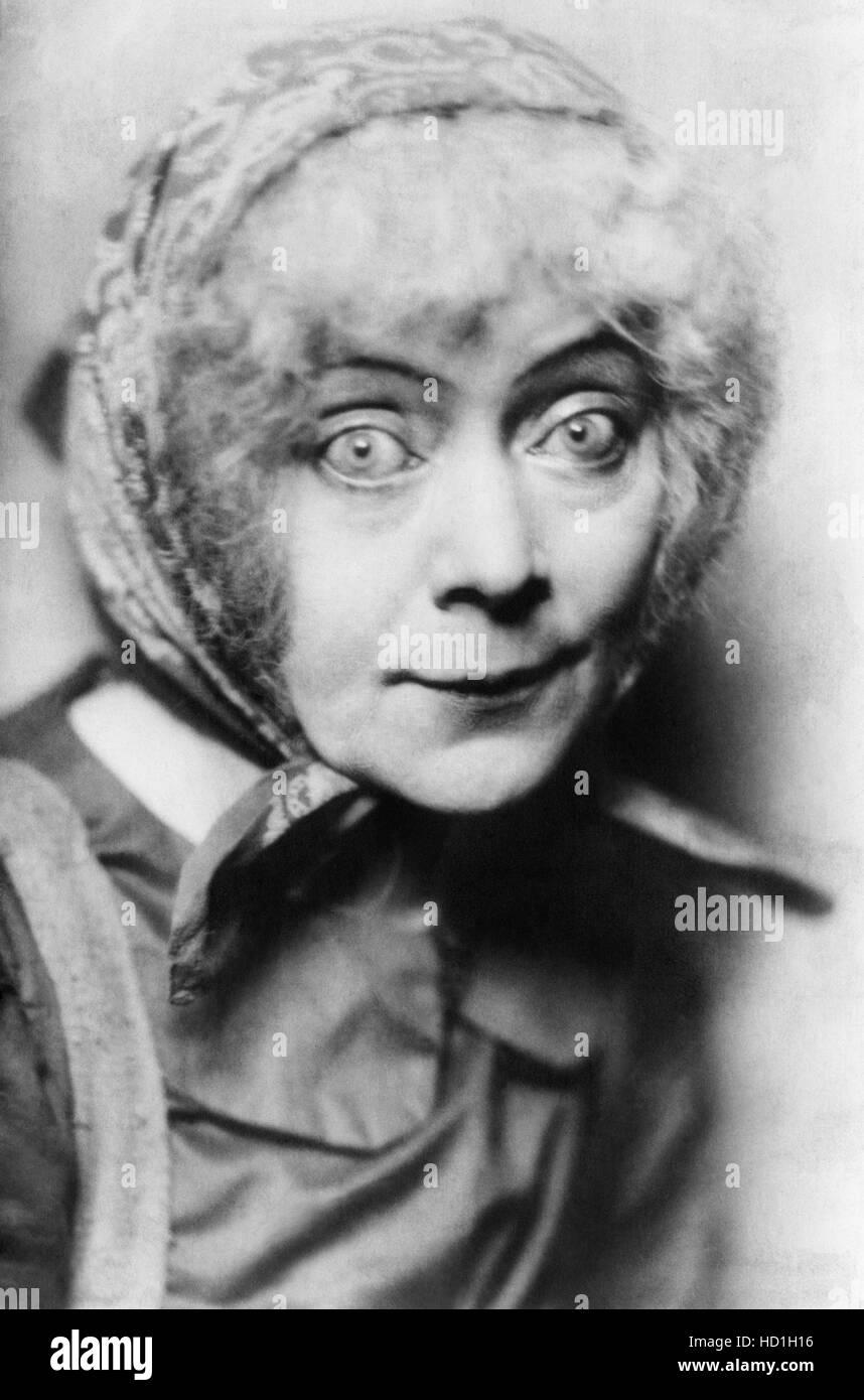 Stage actress Georgie Drew Mendum, ca. 1910sStock Photo