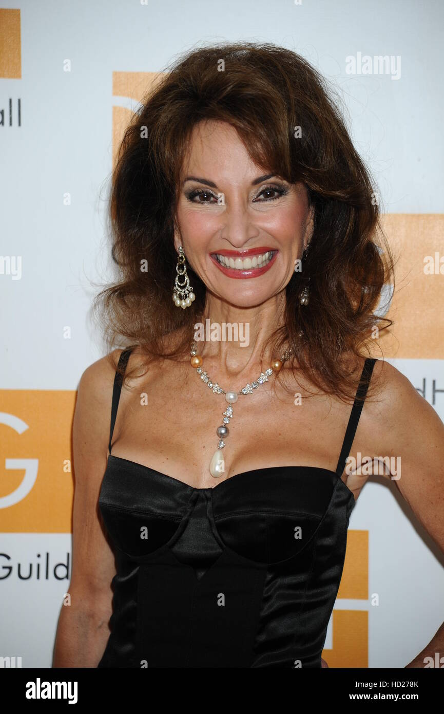 Hampton Comedy Show at Guild Hall  Featuring: Susan Lucci Where: East Hampton, New York, United States When: 27 - Stock Image