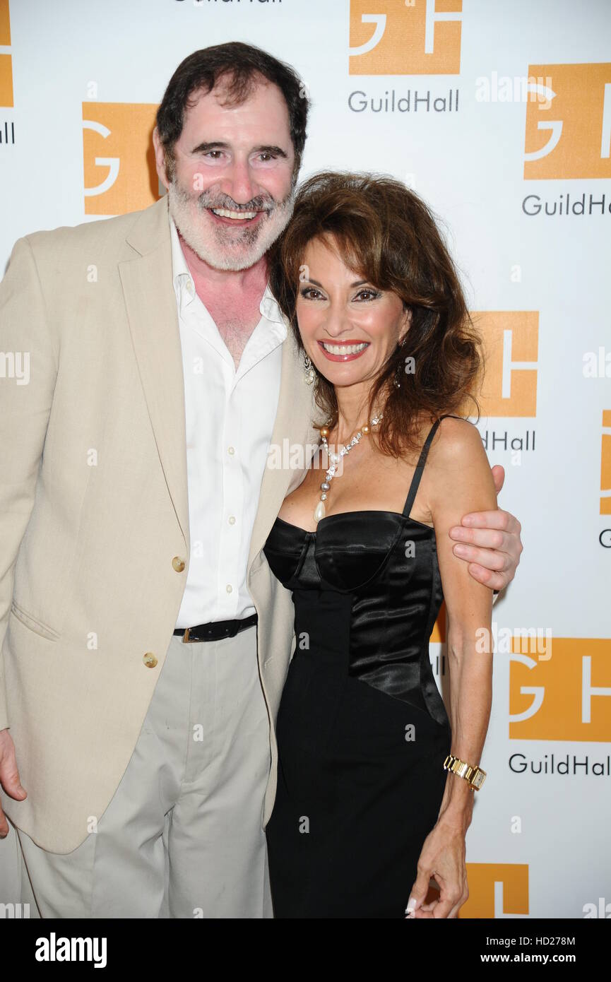 Hampton Comedy Show at Guild Hall  Featuring: Richard Kind, Susan Lucci Where: East Hampton, New York, United States - Stock Image