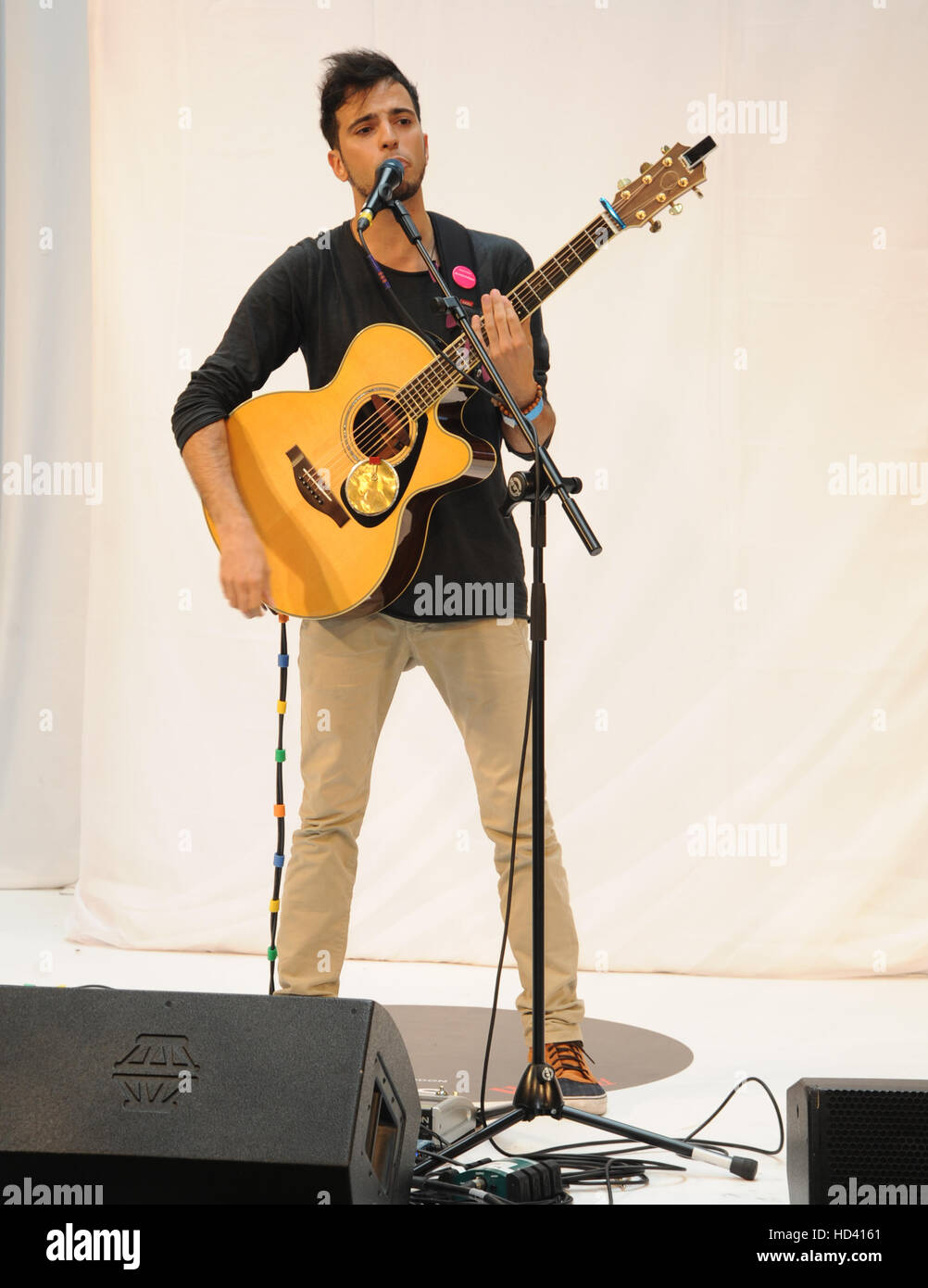 Westfield Stratford Gigs grand final  Featuring: Lucca Where: London, United Kingdom When: 04 Sep 2016 Stock Photo