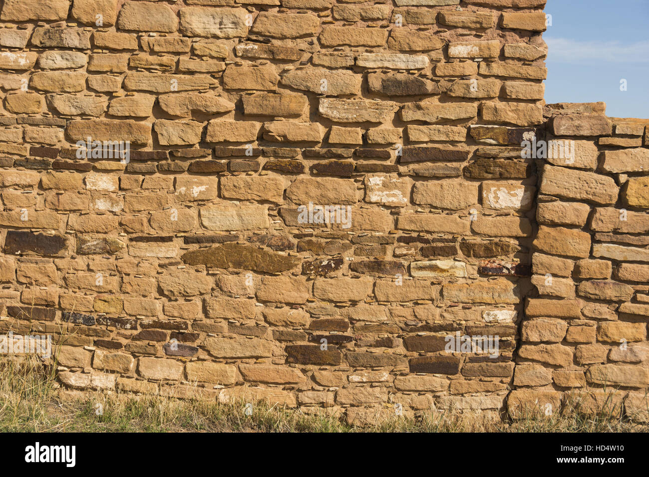 Canyons of the Ancients National Monument, Lowry Pueblo Ruin - Stock Image