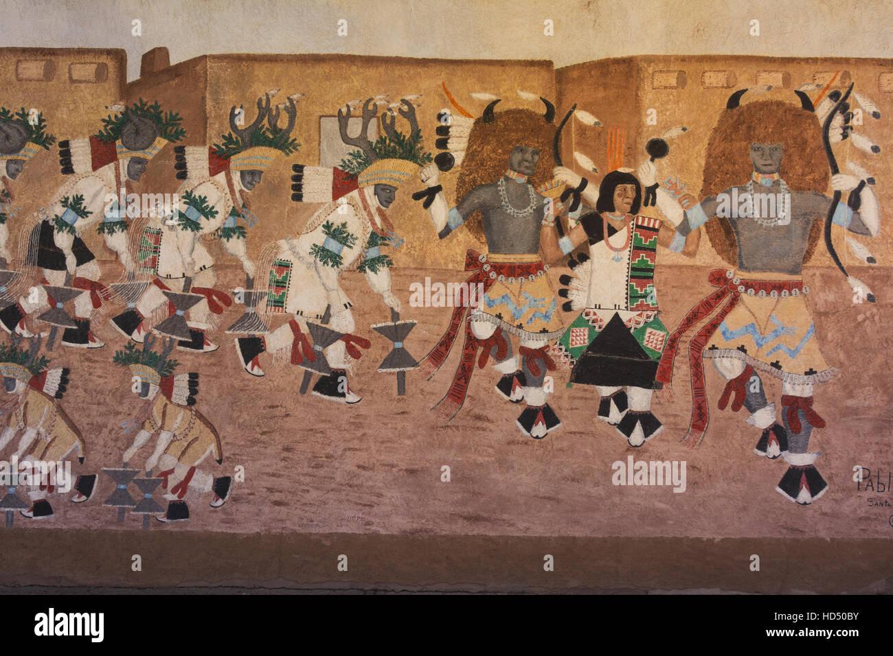 New Mexico, Albuquerque, Indian Pueblo Cultural Center - Stock Image