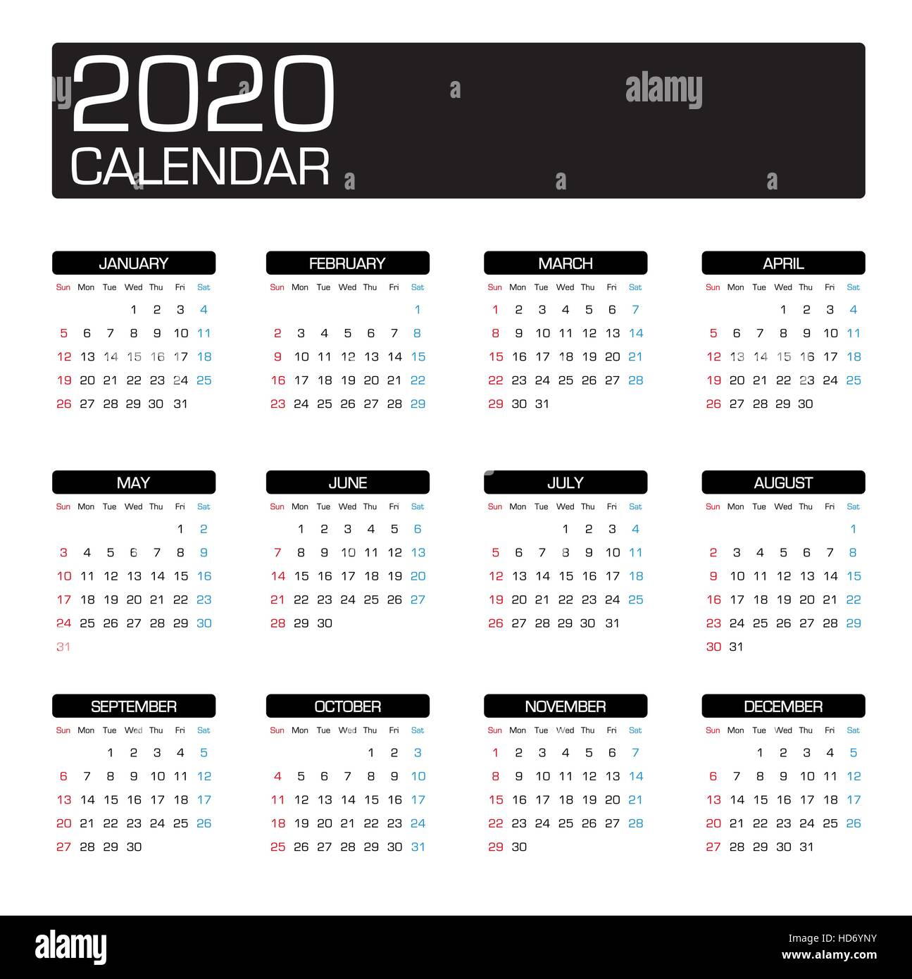 Calendrier 2020 Side Car Cross.Calendar 2020 Cut Out Stock Images Pictures Alamy