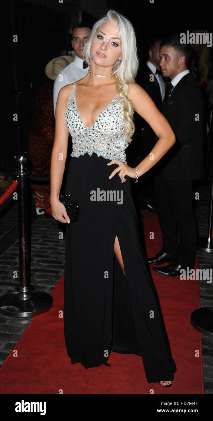 3rd Annual Black Tie Dinner Gala for the Ukuthemba Foundation at Stables Market  Featuring: Chloe Paige Where: London, - Stock Image
