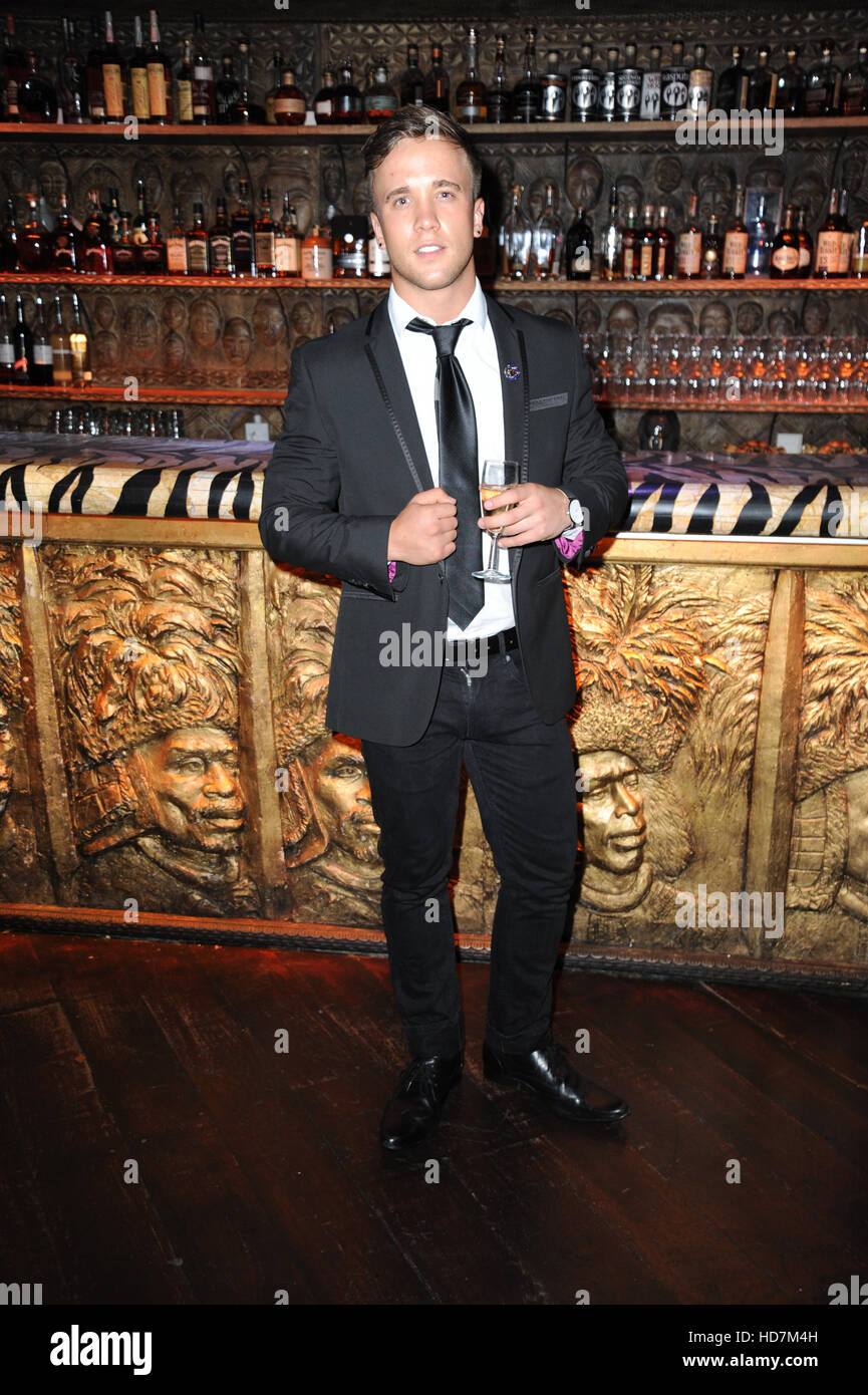 3rd Annual Black Tie Dinner Gala for the Ukuthemba Foundation at Stables Market  Featuring: Sam Callahan Where: - Stock Image